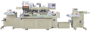RBJ-330C High speed hot foil stamping and die cutting machine